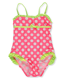 2 B Real Little Girls' Toddler 1-Piece Swimsuit (Sizes 2T – 4T) - CookiesKids.com