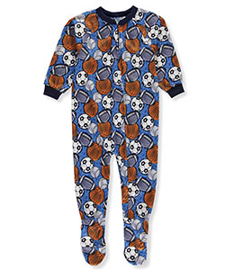 Mon Petit Little Boys' Toddler 1-Piece Footed Pajamas (Sizes 2T – 4T) - CookiesKids.com