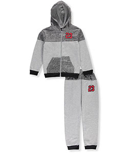 Quad Seven Big Boys' 2-Piece Fleece Sweatsuit (Sizes 8 – 20) - CookiesKids.com