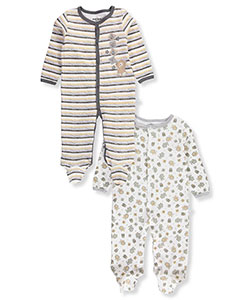Duck Duck Goose Baby Boys' 2-Pack Footed Coveralls - CookiesKids.com