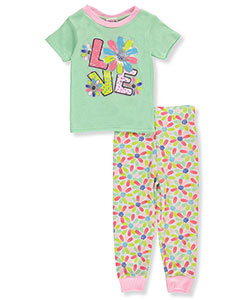 1000% Cute Little Girls' Toddler 2-Piece Pajamas (Sizes 2T – 4T) - CookiesKids.com