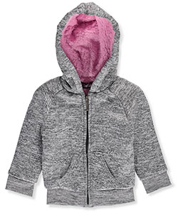 Real Love Baby Girls' Faux Fur-Lined Hoodie - CookiesKids.com