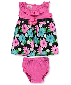 Real Love Baby Girls' Dress with Diaper Cover - CookiesKids.com