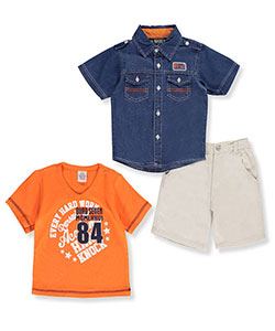Quad Seven Little Boys' Toddler 3-Piece Outfit (Sizes 2T – 4T) - CookiesKids.com