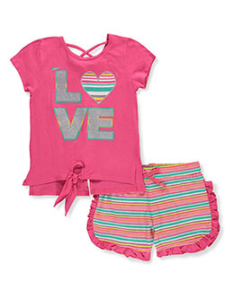 Real Love Girls' 2-Piece Outfit - CookiesKids.com