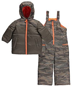 "Carter's Little Boys' ""Ski Patrol Rescue"" 2-Piece Snowsuit (Sizes 2T – 4T) - CookiesKids.com"