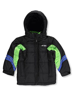 "London Fog Little Boys' ""Piney Slopes"" Jacket (Sizes 4 – 7) - CookiesKids.com"