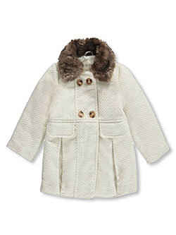 "Jessica Simpson Little Girls' ""Snow Sparkle"" Coat (Sizes 4 – 6X) - CookiesKids.com"