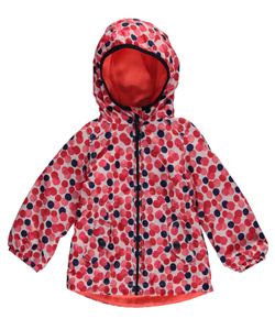 "OshKosh Baby Girls' ""Pretty Polka"" Rain Jacket - CookiesKids.com"