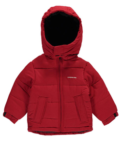 "London Fog Little Boys' ""Winter Sherpa"" Insulated Jacket (Sizes 4 – 7) - CookiesKids.com"