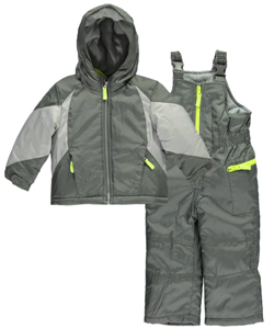 "Carter's Baby Boys' ""Insulated Block"" 2-Piece Snowsuit - CookiesKids.com"