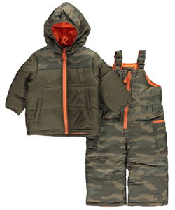 "Carter's Baby Boys' ""Snow Commando"" 2-Piece Snowsuit - CookiesKids.com"
