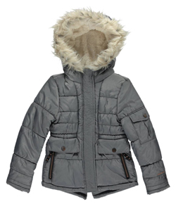 "London Fog Big Girls' ""Pueblo-Lined"" Insulated Jacket (Sizes 7 – 16) - CookiesKids.com"