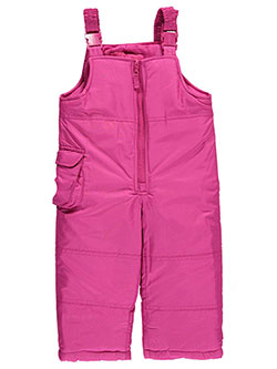 "London Fog Baby Girls' ""Cargo Hip"" Bib Snowpants - CookiesKids.com"