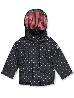 "OshKosh Baby Girls' ""Silver Shower"" Hooded Jacket - CookiesKids.com"