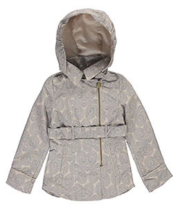 "Jessica Simpson Big Girls' ""Prescott"" Hooded Coat (Sizes 7 – 16) - CookiesKids.com"