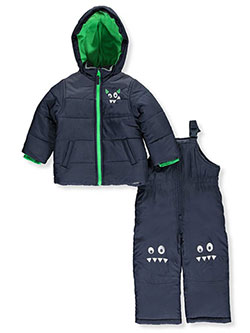 Carter's Little Boys' 2-Piece Snowsuit (Sizes 4 – 7) - CookiesKids.com