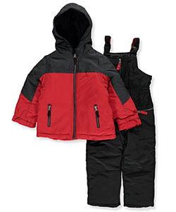 London Fog Little Boys' Toddler 2-Piece Snowsuit (Sizes 2T – 4T) - CookiesKids.com