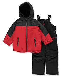 London Fog Little Boys' 2-Piece Snowsuit (Sizes 4 – 7) - CookiesKids.com