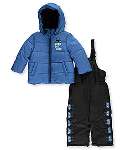 Carter's Baby Boys' 2-Piece Snowsuit - CookiesKids.com