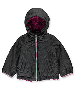 London Fog Baby Girls' Reversible Jacket - CookiesKids.com