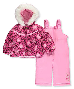 London Fog Baby Girls' 2-Piece Snowsuit - CookiesKids.com