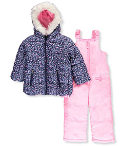 Carter's Little Girls' Toddler 2-Piece Snowsuit (Sizes 2T – 4T) - CookiesKids.com