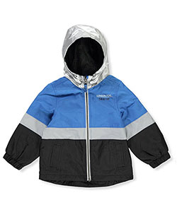London Fog Baby Boys' Hooded Rain Jacket - CookiesKids.com