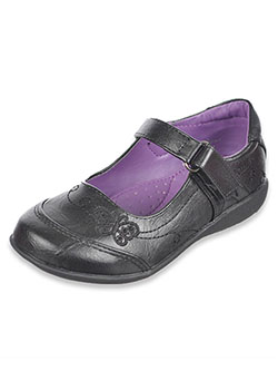 "School Rider Girls ""Butterfly Filigree"" Mary Janes (Toddler Sizes 5 – 10) - CookiesKids.com"
