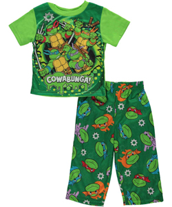 "TMNT Baby Boys' ""Cowabunga Charge!"" 2-Piece Pajama Set - CookiesKids.com"