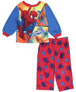 "Spider-Man Baby Boys' ""I'm the Ultimate"" 2-Piece Pajamas - CookiesKids.com"