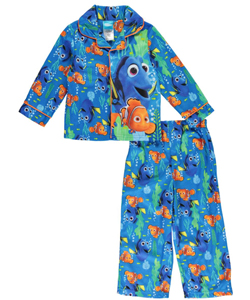 "Finding Dory Little Boys' Toddler ""Sleepy Swim"" 2-Piece Pajamas (Sizes 2T – 4T) - CookiesKids.com"