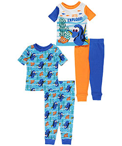 "Finding Dory Baby Boys' ""Let's Explore"" 4-Piece Pajama Set - CookiesKids.com"