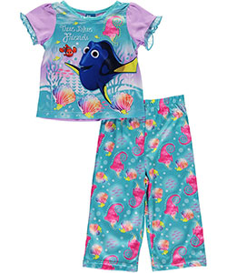 "Finding Dory Baby Girls' ""True Blue Friends"" 2-Piece Pajamas - CookiesKids.com"