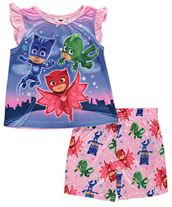 "PJ Masks Little Girls' Toddler ""Winged Dreams"" 2-Piece Pajamas (Sizes 2T – 4T) - CookiesKids.com"