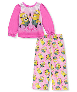 "Despicable Me Little Girls' Toddler ""Chaos"" 2-Piece Pajamas (Sizes 2T – 4T) - CookiesKids.com"