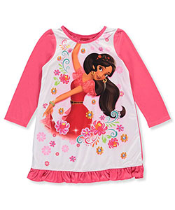 "Disney Elena of Avalor Little Girls' Toddler ""Princess Twirl"" Nightgown (Sizes 2T – 4T) - CookiesKids.com"