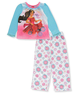 "Elena of Avalor Little Girls' Toddler ""My Turn"" 2-Piece Pajamas (Sizes 2T – 4T) - CookiesKids.com"