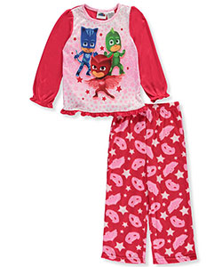 PJ Masks Little Girls' Toddler Pajamas (Sizes 2T – 5T) - CookiesKids.com