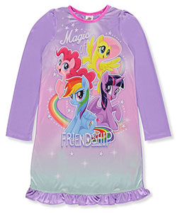 My Little Pony Little Girls' Nightgown (Sizes 4 – 6X) - CookiesKids.com