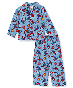 Spider-Man Little Boys' Toddler 2-Piece Pajamas (Sizes 2T – 4T) - CookiesKids.com