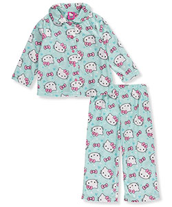 Hello Kitty Little Girls' Toddler 2-Piece Pajamas (Sizes 2T – 4T) - CookiesKids.com