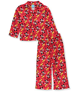 Disney Mickey Mouse Little Boys' Toddler 2-Piece Pajamas (Sizes 2T – 4T) - CookiesKids.com