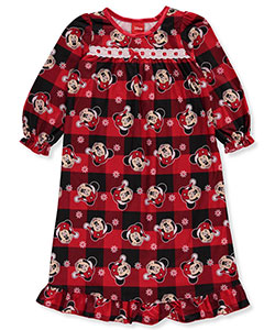 Disney Minnie Mouse Little Girls' Toddler Nightgown (Sizes 2T – 4T) - CookiesKids.com