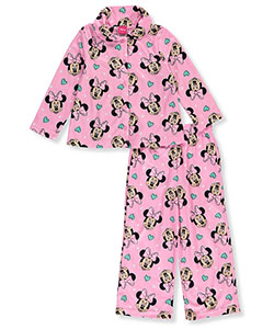 Disney Minnie Mouse Little Girls' Toddler 2-Piece Pajamas (Sizes 2T – 4T) - CookiesKids.com