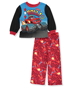 Blaze and the Monster Machines Little Boys' Toddler 2-Piece Pajamas (Sizes 2T - 4T) - CookiesKids.com