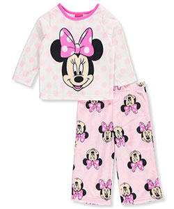 Disney Minnie Mouse Baby Girls' 2-Piece Pajamas - CookiesKids.com