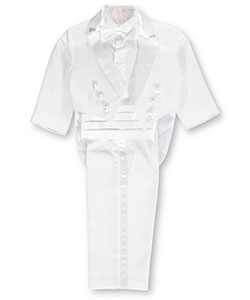 Kaifer Baby Boys' 5-Piece Tuxedo with Tails - CookiesKids.com