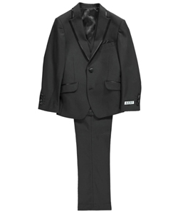 "AXNY Big Boys' ""Satin Edge"" 3-Piece Suit (Sizes 8 – 20) - CookiesKids.com"