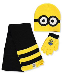 Despicable Me Boys' 3-Piece Winter Accessories Set (Youth One Size) - CookiesKids.com